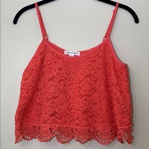 Ambience Apparel Lace Crop Top (New)